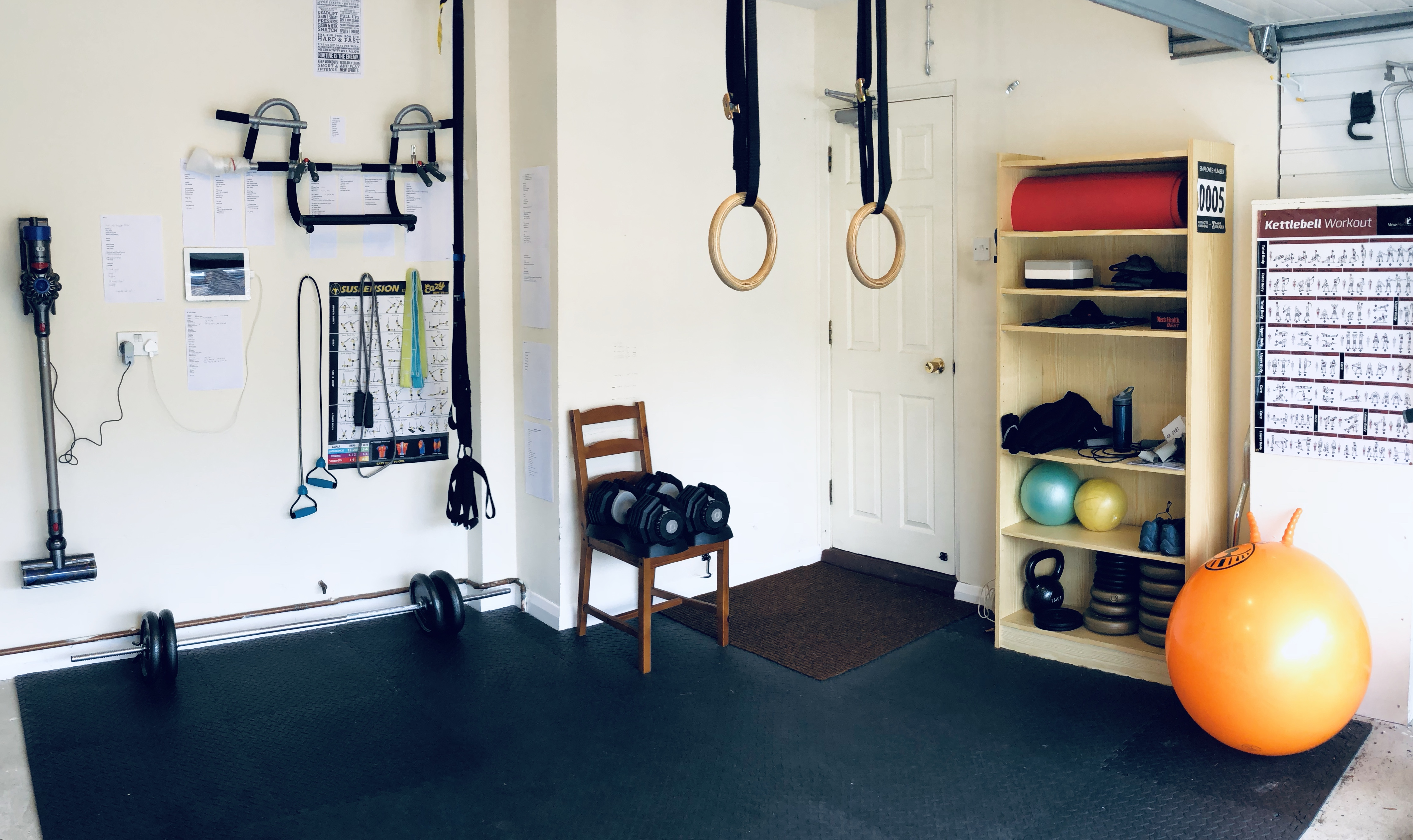 The stingy fitness fanatic's garage gym