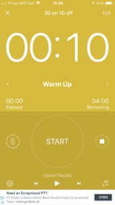 Interval Timer - HIIT Workouts